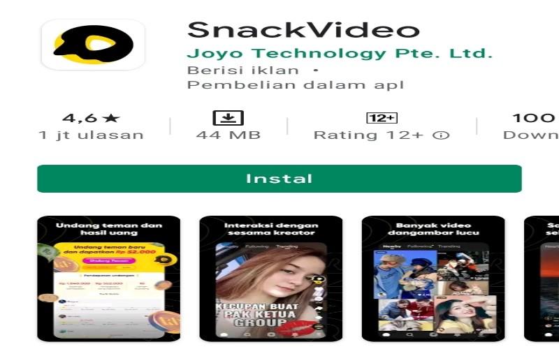 Viral Aplikasi Dianggap Penipuan Snack Video Buka Suara Voxlampung